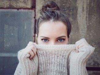 regard yeux bleux maquillage